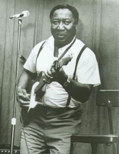 Muddy Waters e a sua guitarra