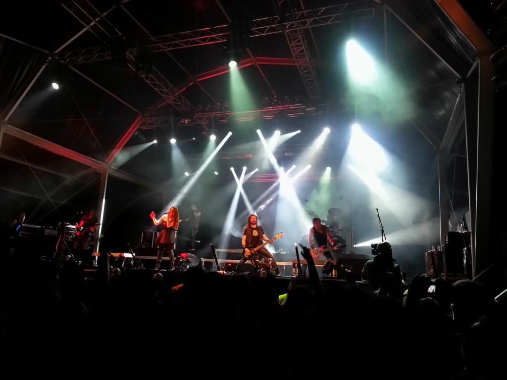Epica Vagos Open Air'14