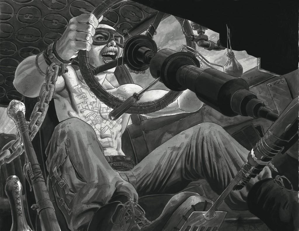 Mad Max: Fury Road, por Nicola Scott (Birds of Prey, Secret Six)
