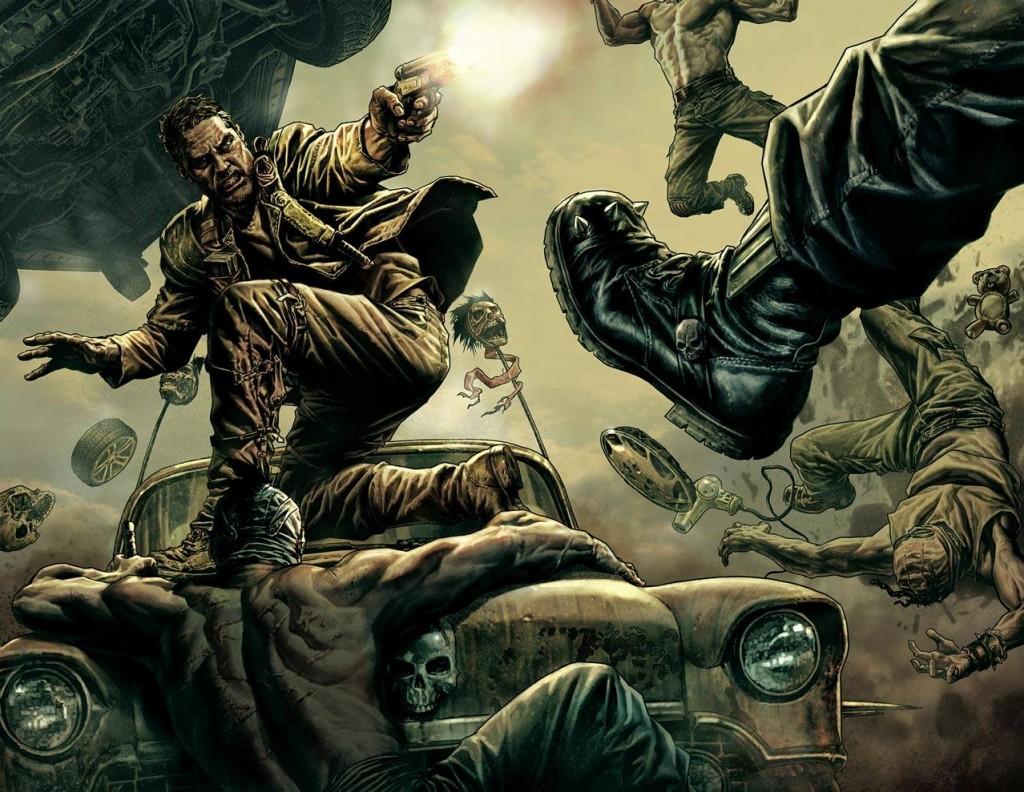 Mad Max: Fury Road, por Lee Bermejo (Batman: Noel, HellBlazer)