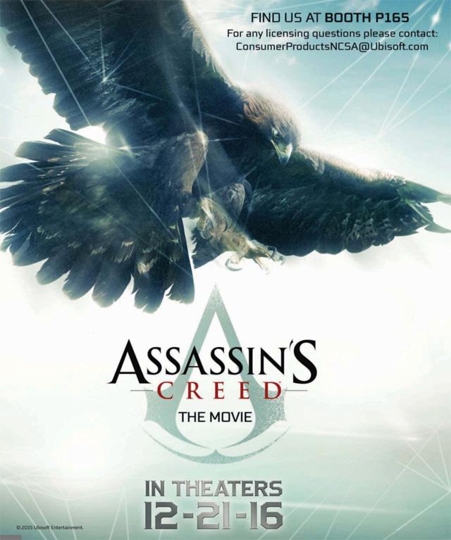 Poster oficial do filme Assassin's Creed