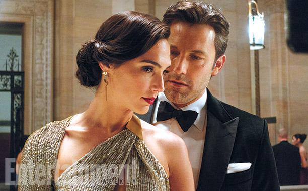 Princesa Diana e Bruce Wayne