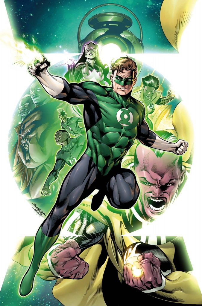 Cover #1 Hal Jordan and the Green Lantern corps